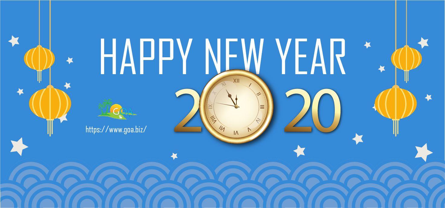 Happy New Year 2020 New Opportunities Happy Joy