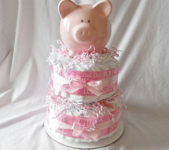dave ramsey diaper cake- for my debt free party!