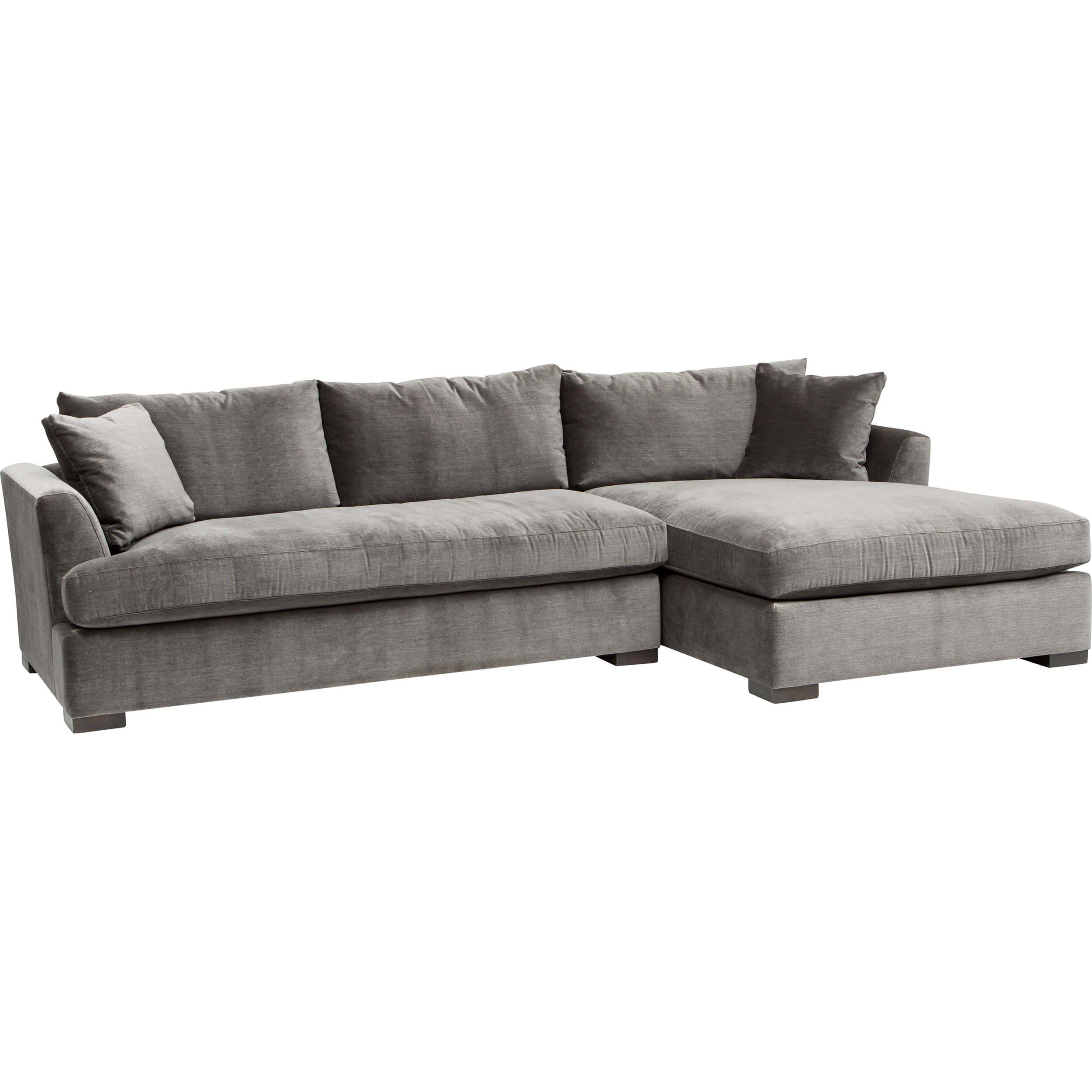 Cooper Sectional, Vernon Flannel Sofas Furniture | Couch