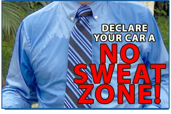 Sweating NOAC Car Before you call a AC repair man visit my