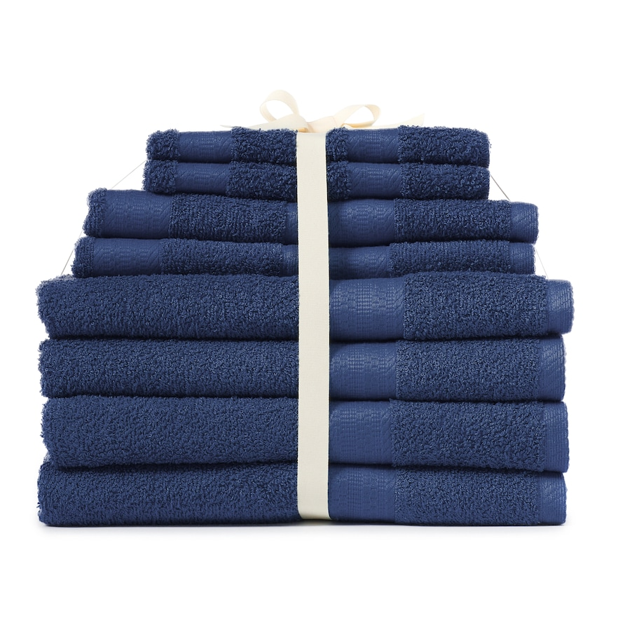 The Big One 12 Piece Back To School Bath Towel Set Towel Set