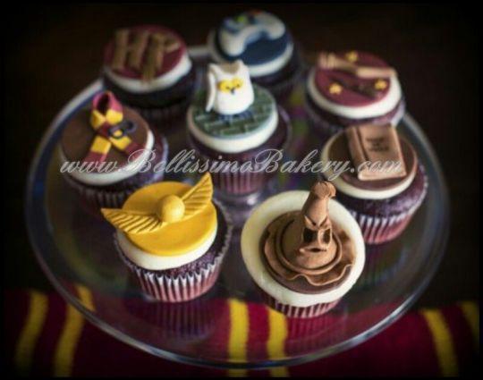 Fun Harry Potter Cupcakes