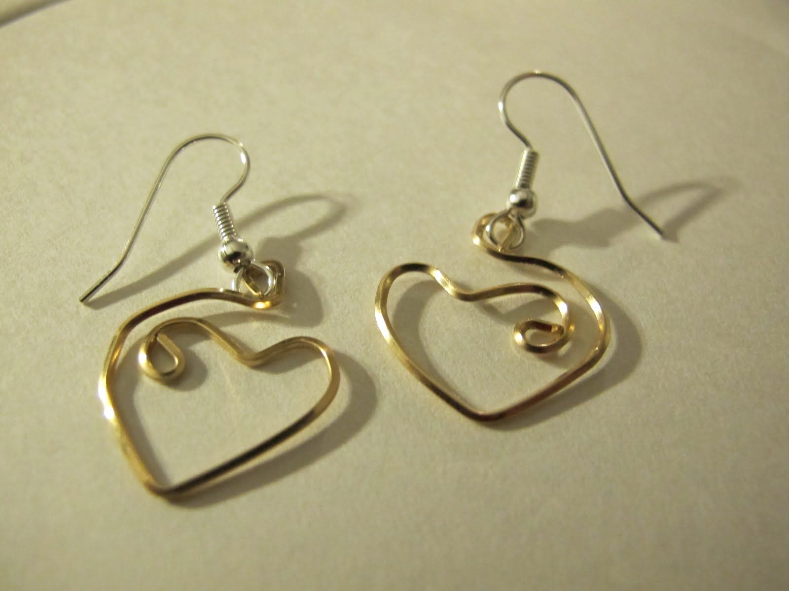 Free Wire Wrap Earring Patterns Naomis Designs Handmade Wire