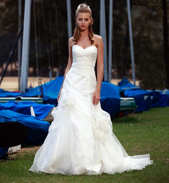 Bridal Gowns: Augusta Jones A-Line Wedding Dress With