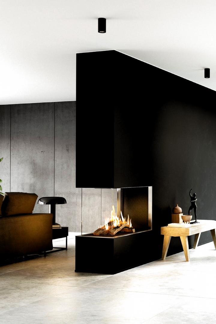 Neuheit Visio Raumteiler Gaskamin Neuheit Visio Raumteiler Gaskamin Kirsti Chro Save Images Kirsti Chro Inszenieren Fireplace Design House Interior Home Decor