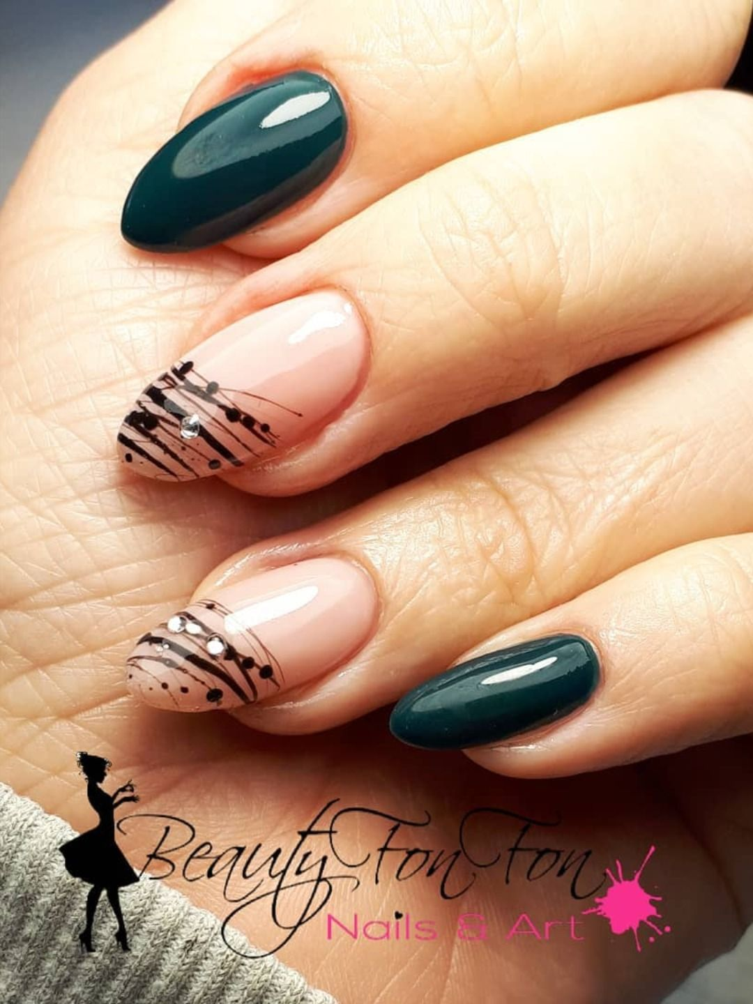 Dark Green Nails Ideas To Consider For 2020 Green Nails Green