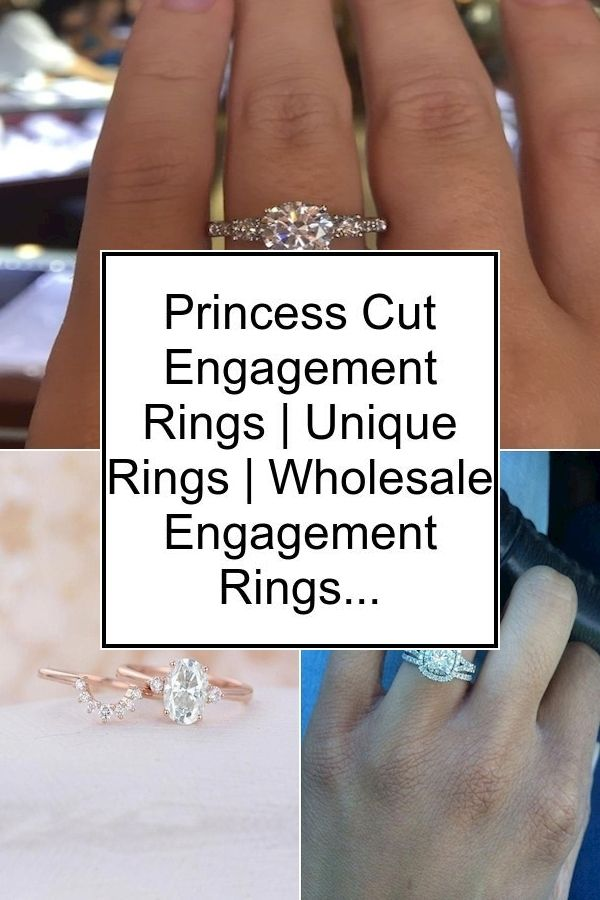 Princess Cut Engagement Rings | Unique Rings | Wholesale Engagement Rings