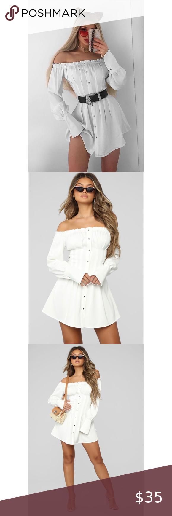 Off-shoulder Dress Off-shoulder Dress Gently used
