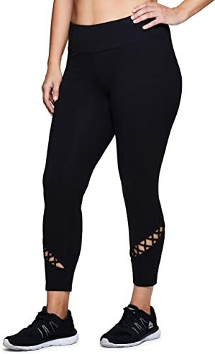 Photo of New RBX Active Women's Plus Size Stretch Ankle Full Length Workout Running Gym Y…