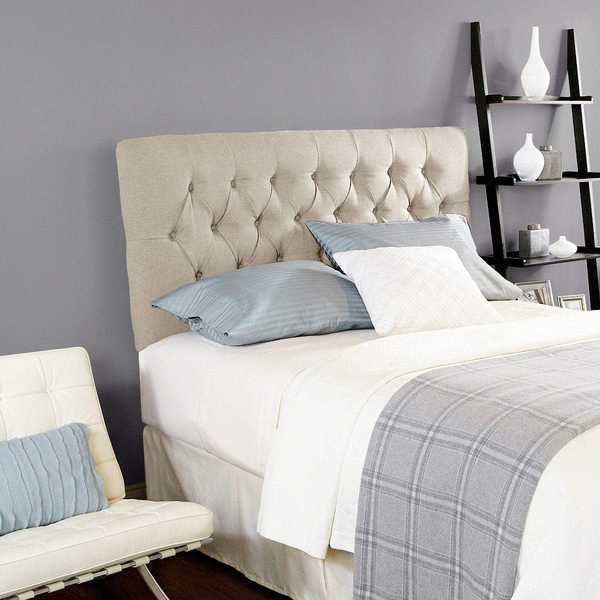 Humble haute upholstered headboard in ivory products pinterest