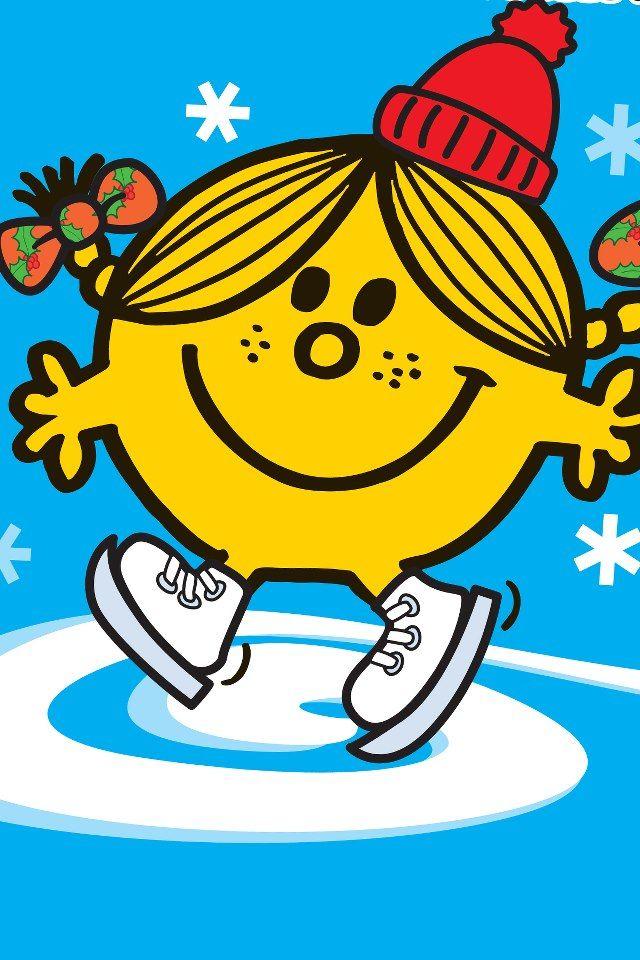 スケートしているニコニコちゃんです。