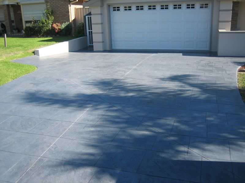 17+ Images About Concrete Driveway Finishes On Pinterest | Modern
