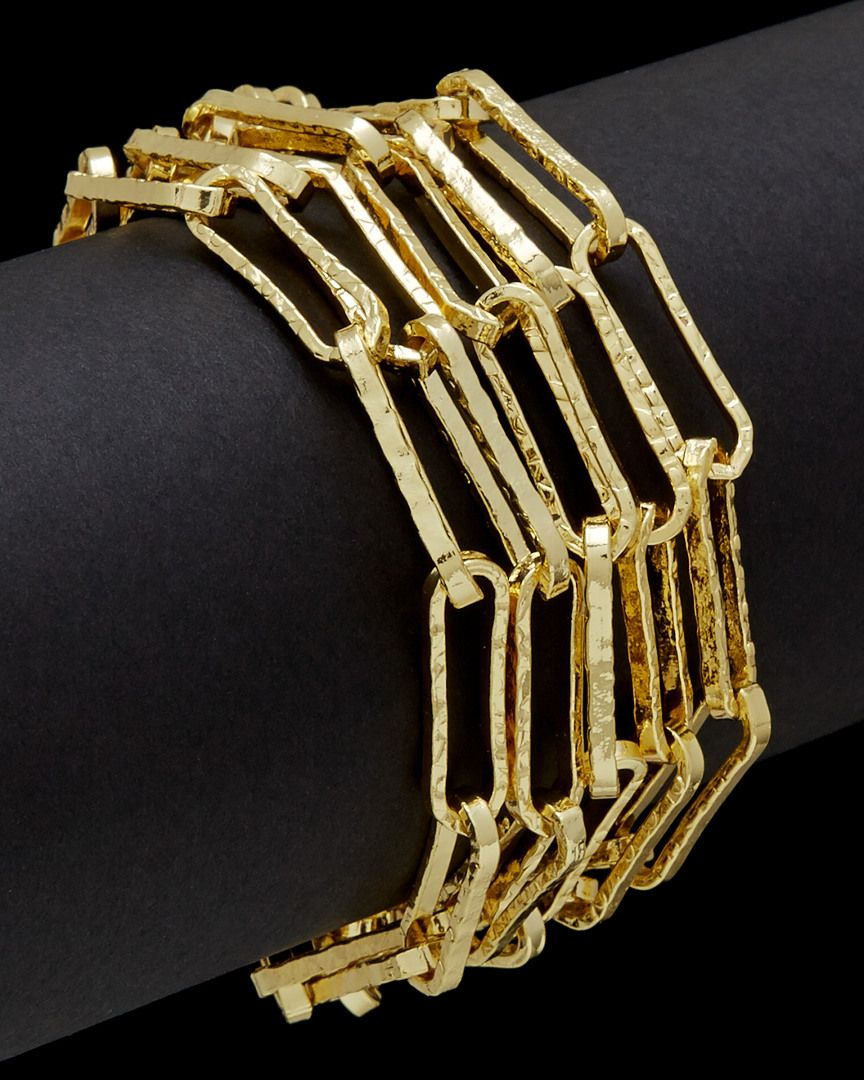 1AR by UnoAerre 18K Plated Link Toggle Bracelet is on Rue. Shop it now.