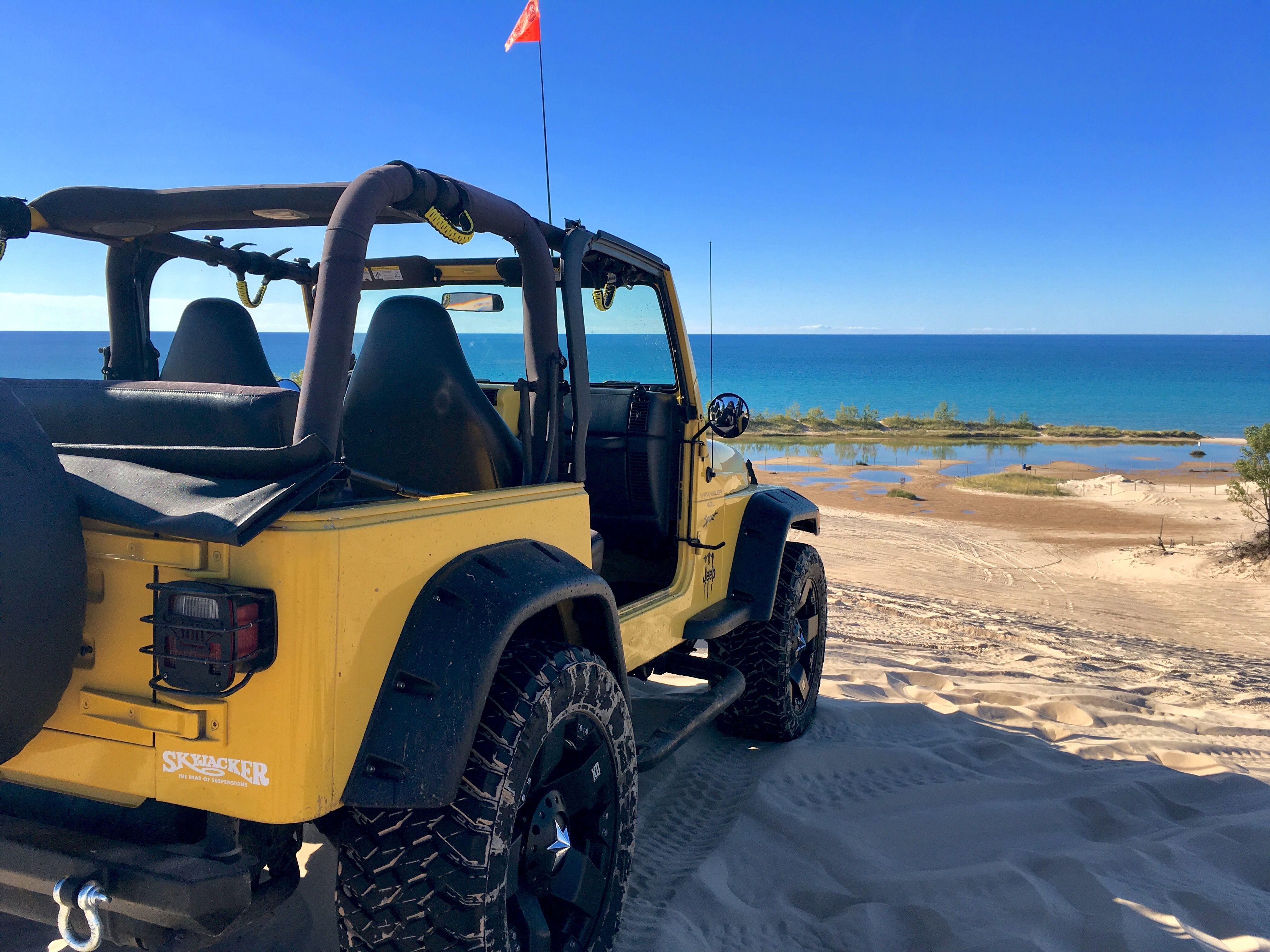 Brock S Jeep Silver Lake Sand Dunes 9 30 2017 Goruntuler
