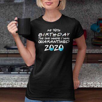 My 40th Birthday Birthday Shirts For Women| It's My Birthday Shirt| 40th Birthday Gifts For H...