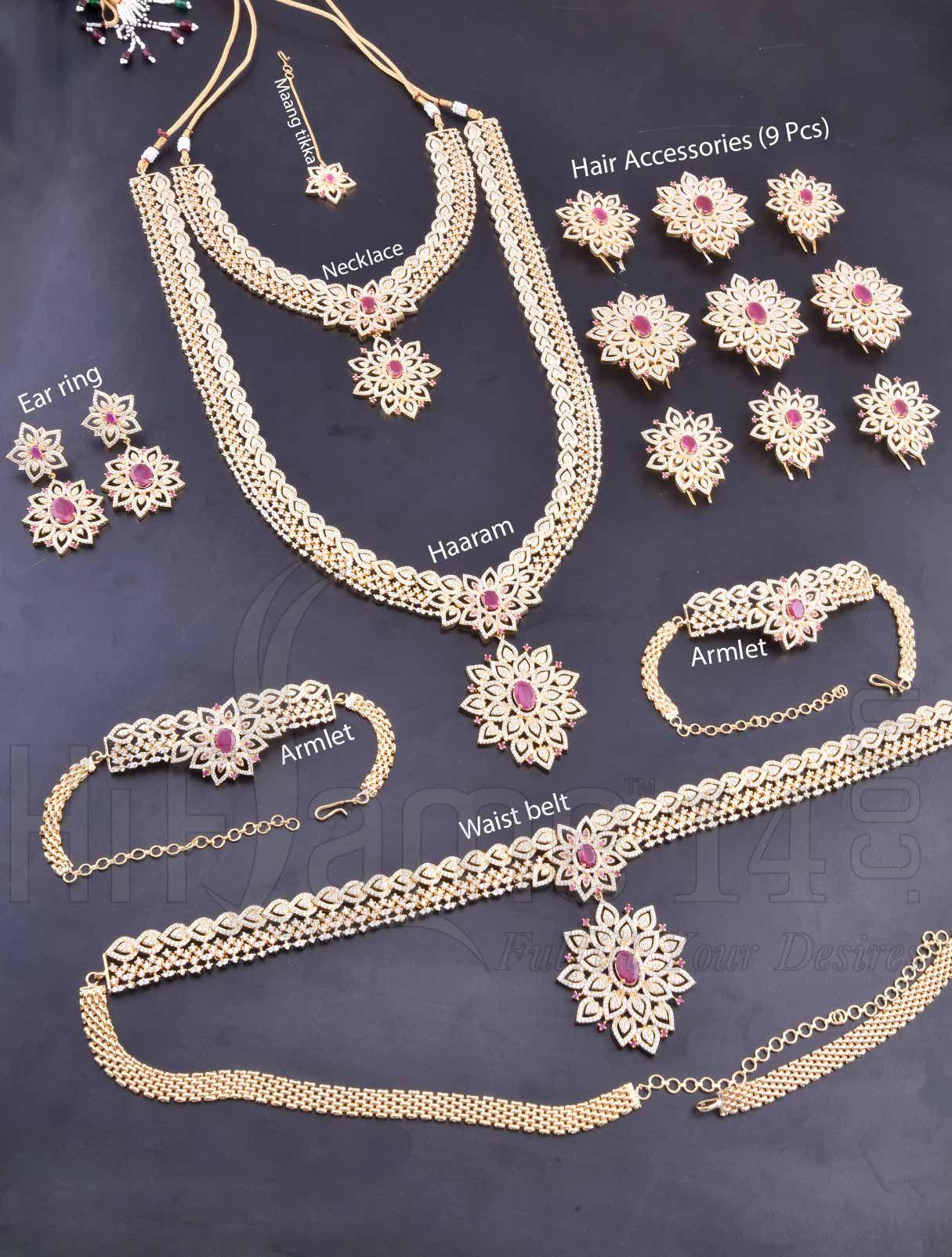 American Bridal Necklaces