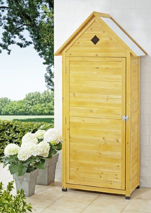Armoire Pour Outils De Jardinage Volumineux Armoire De Jardin Jardins En Bois Deco Petit Balcon
