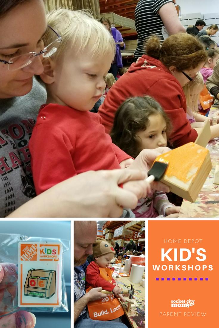 Parent Review Home Depot Kid S Workshop Rocket City Mom