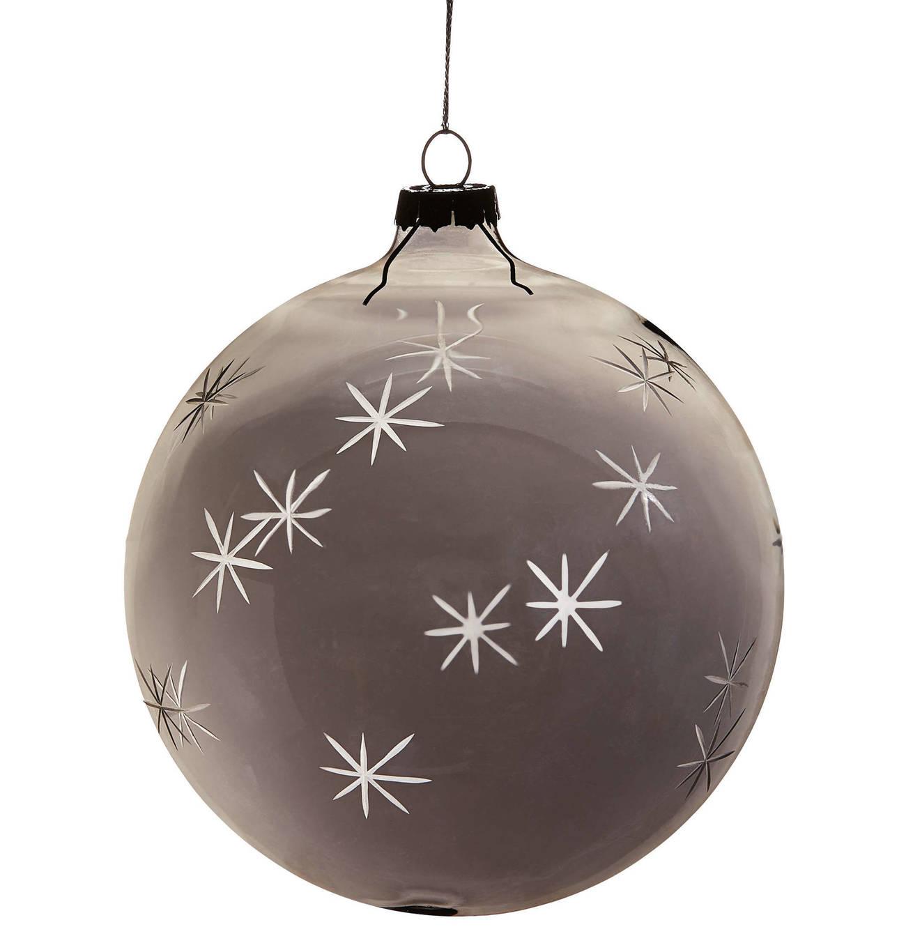 Galeria Kaufhof Christbaumkugeln.Butlers Hang On 4x Weihnachtskugel Mit Sterne O 10 Cm