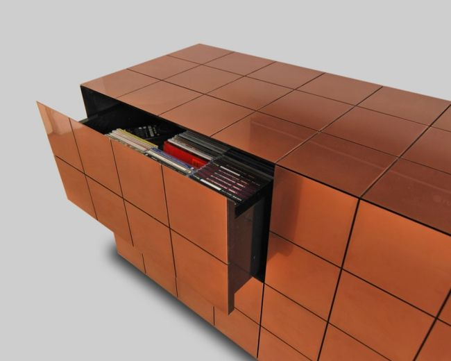 Kupfer Möbel kupfer schrank modernes möbel design daan mulder jpg 650 520