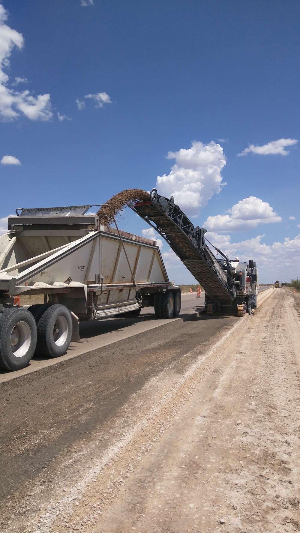 $23M N.M. Road Construction Project Continues Near Hobbs #heavyequipment #construction