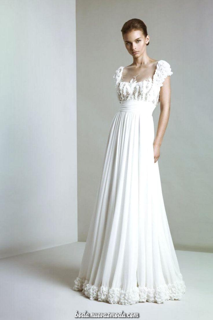 vestido de novia sencillo romántico #wedding #vestidos #romantic