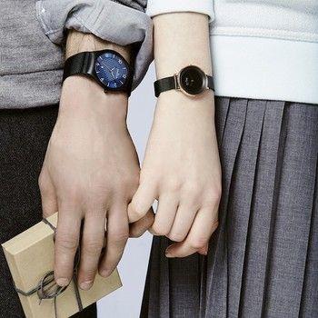 スカーゲンの美しさとは「機能美」の一言に尽きます。 しかも、薄く、軽く、価格もリーズナブルという、女子にうれしい時計なんです。