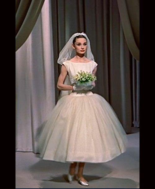 Image Result For Sharon Stone Casino Dress Audrey Hepburn Wedding Dress Funny Face Wedding Dress Short Wedding Dress