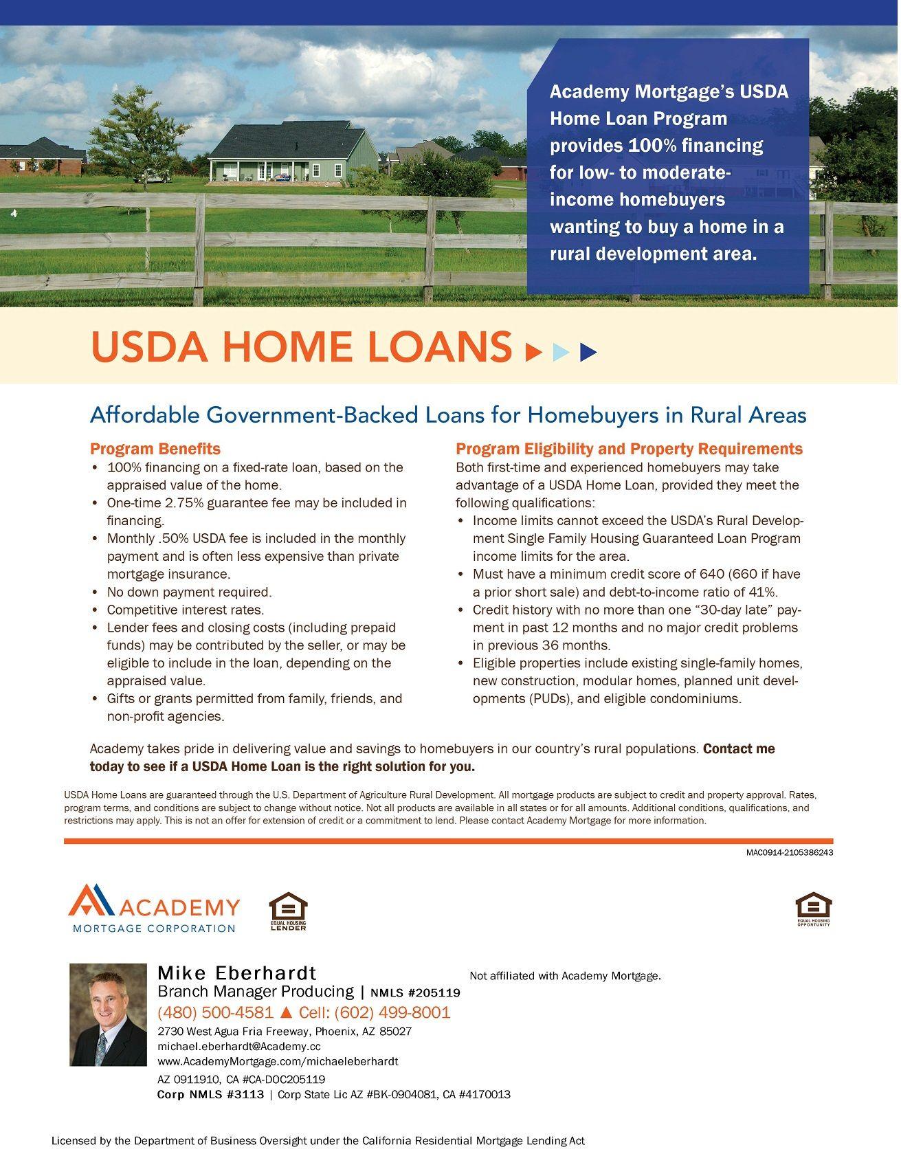 Usda home loans loan program flyers pinterest for Usda home search