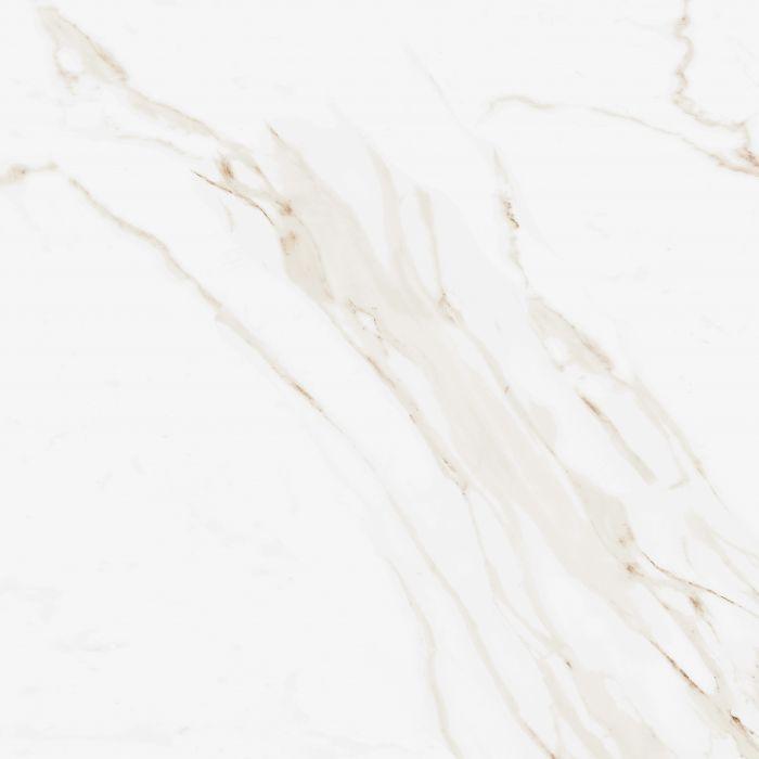 Calacatta Gold Gloss Marble Effect Porcelain Floor Tile #whitemarbleflooring