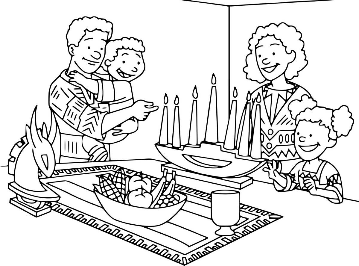 Kwanzaa Coloring Pages Best Coloring Pages For Kids Family Coloring Pages Coloring Pages Family Coloring