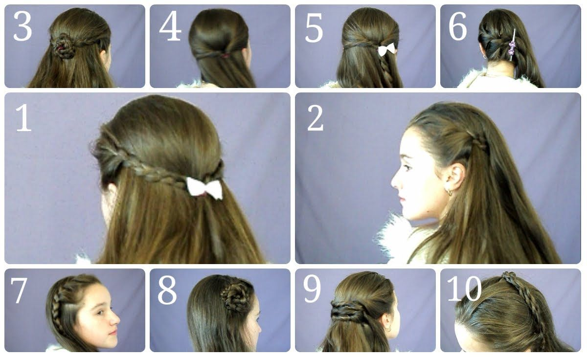 10 easy, simple half up hairstyles for everyday in this