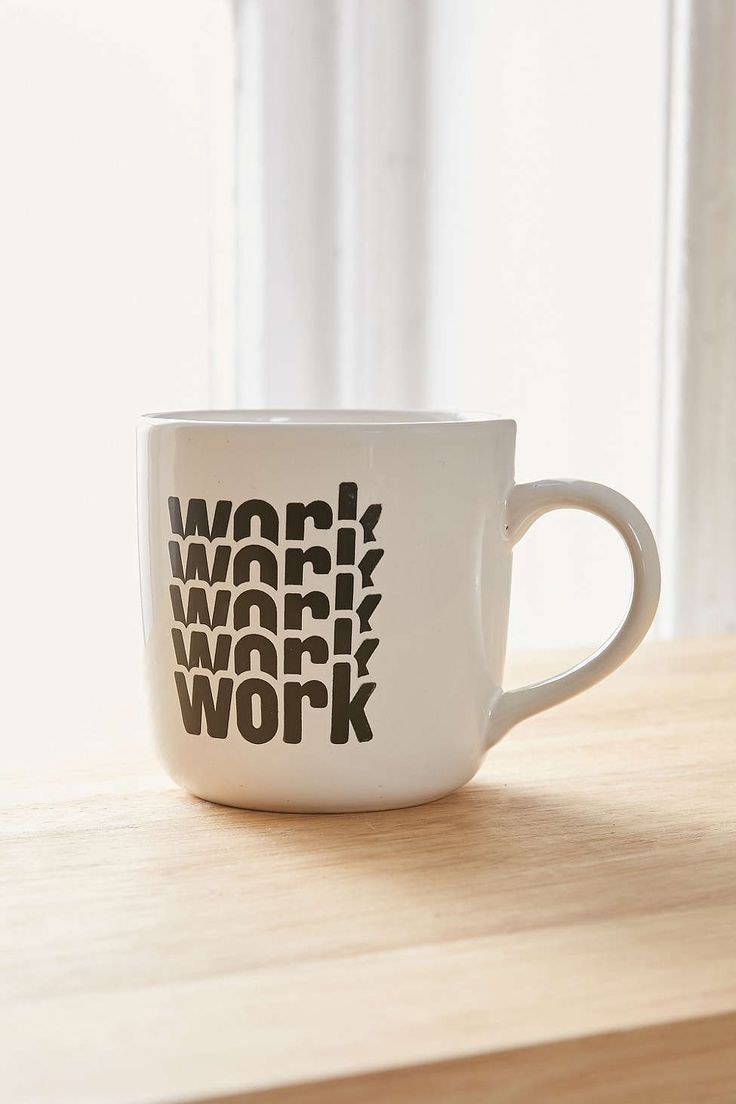 office space coffee mug. work, work work. office space coffee mug