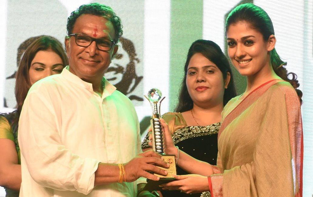 Actress Nayanthara has attended the Amma sports