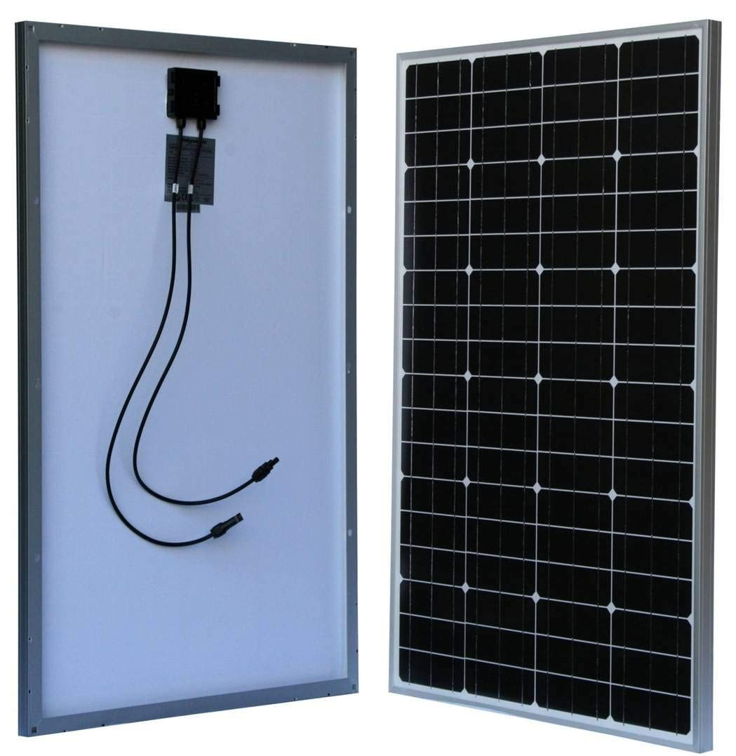 Windynation 100 Watt 100w Monocrystalline Photovoltaic Pv Solar Panel Module 12v Battery Charging For Boat Rv Off Grid With Images Solar Panel Installation Solar Pv Panel Solar Energy Panels