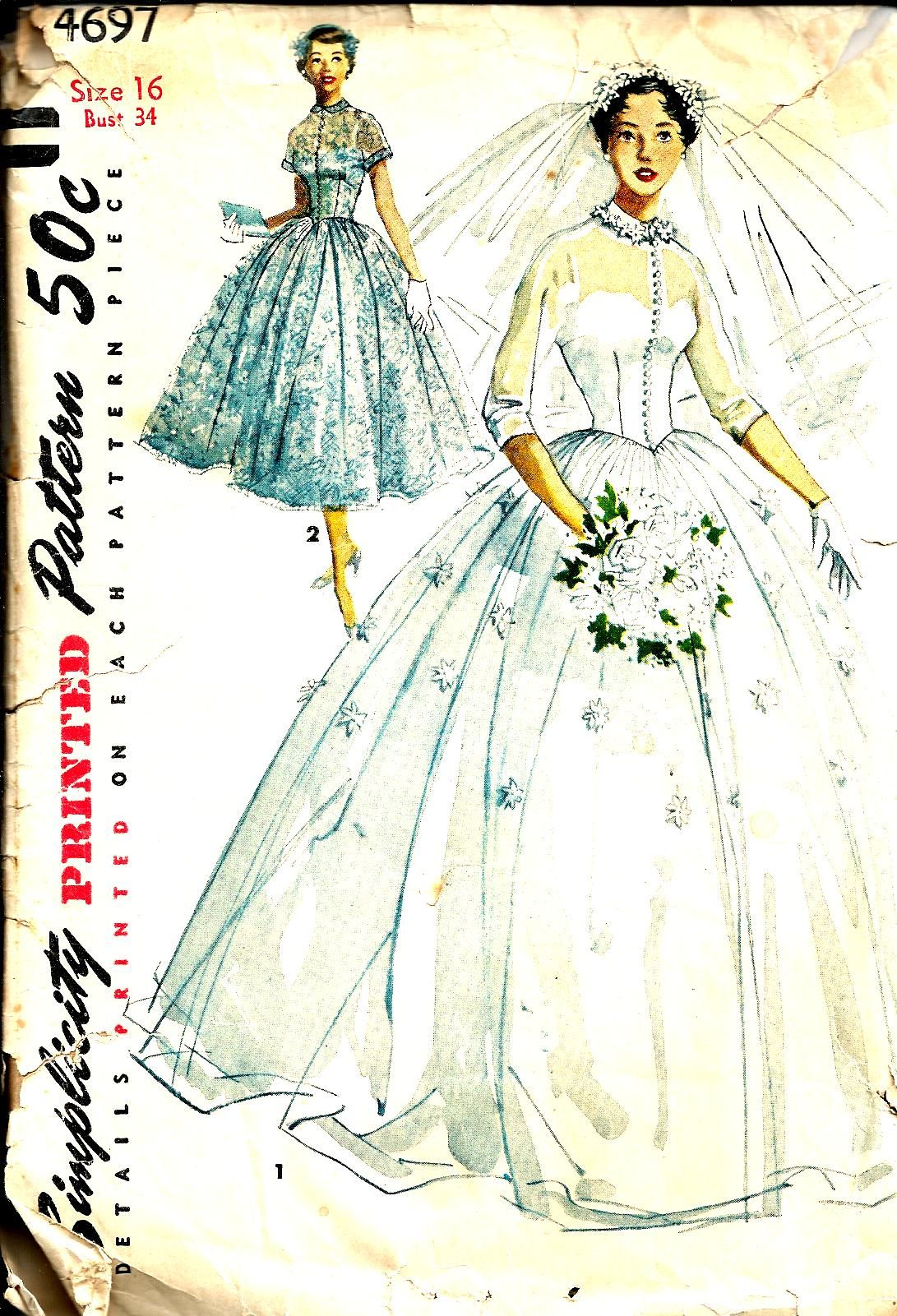 sewing wedding dress patterns vintage - Yahoo Search Results Yahoo ...