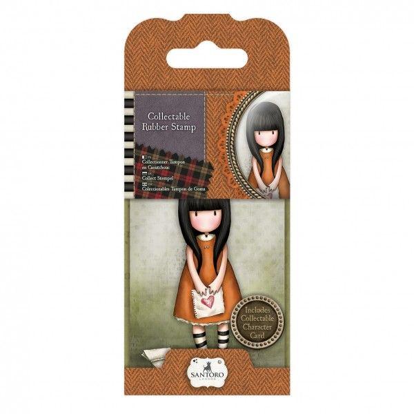 Medida: aprox. 7cm (varia consoante o desenho); Cada carimbo tem uma ilustração encantadora e traz um cartão colecionável