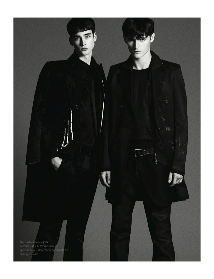 Alexander Beck & Corentin Renault for Hunter Magazine image hunter editorial photos 009