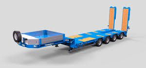Image result for 48 wheel inline low loader semi trailer