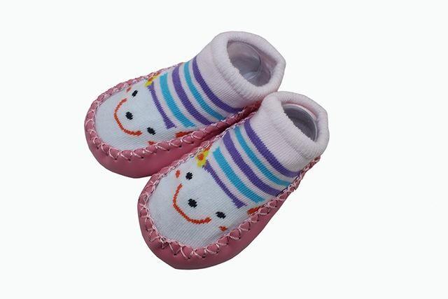 Baby Socks Children Infant Cartoon Indoor Floor Socks Leather Sole