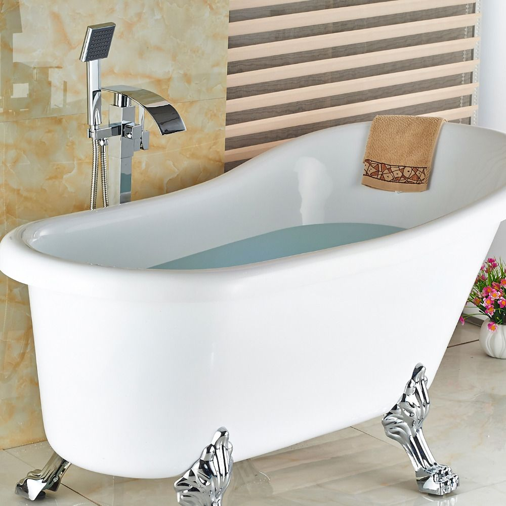 Wholesale And Retail Modern Floor Mounted Bathroom Tub Faucet ...