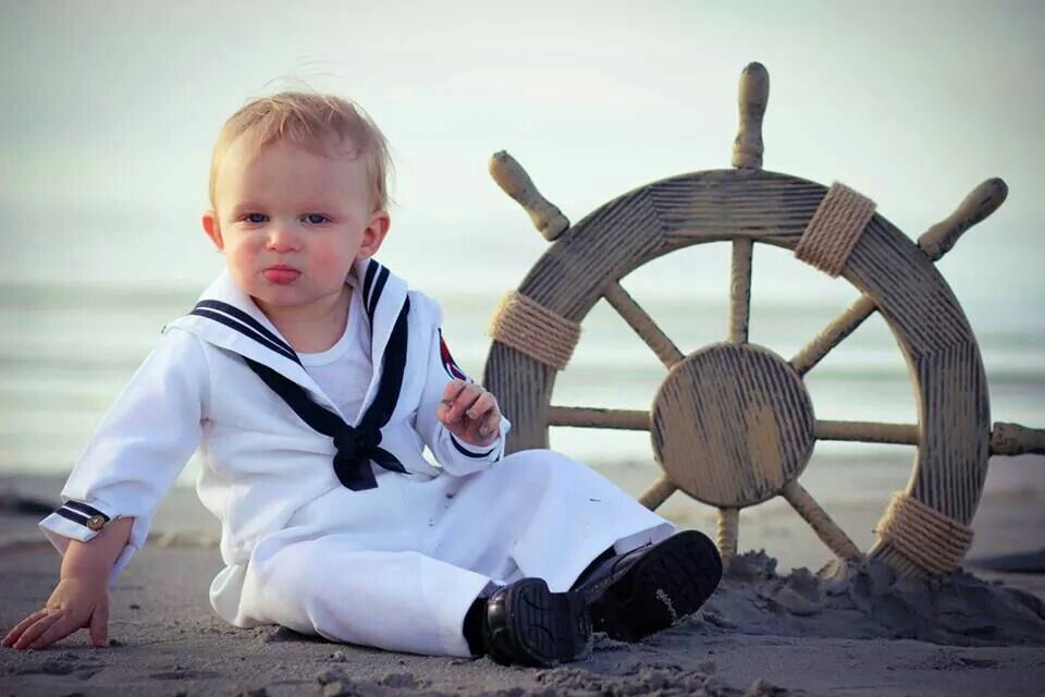 1 year old photos stevie little boy photography sailor at the beach photo shoot nautical pictures boat wheel