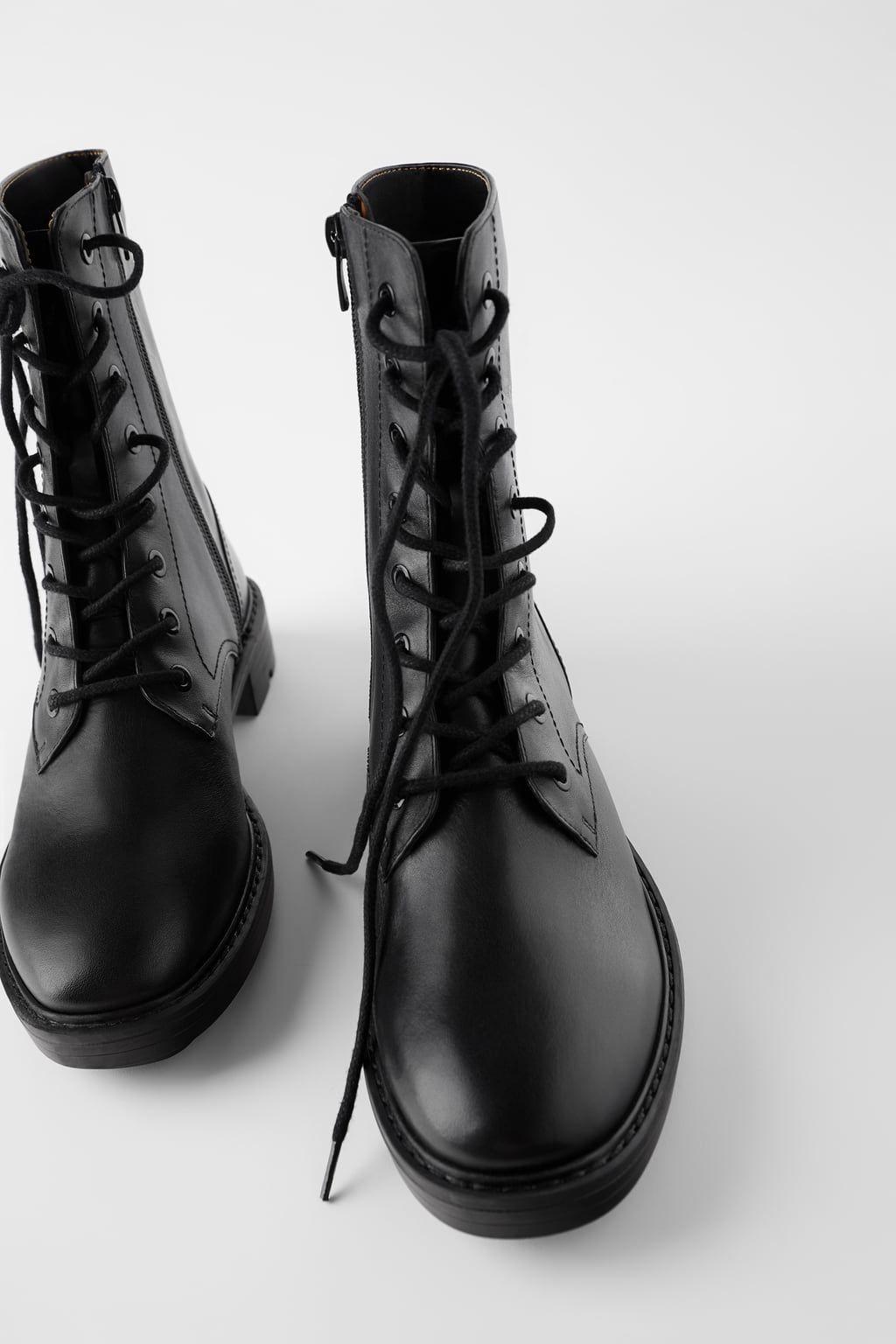 Кожаные ботинки в байкерском стиле ЖЕНЩИНЫ БЕСТСЕЛЛЕРЫ