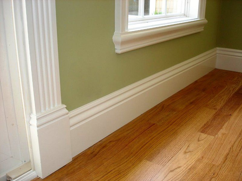Baseboard molding styles custom finish carpentry doors for Baseboard and door trim