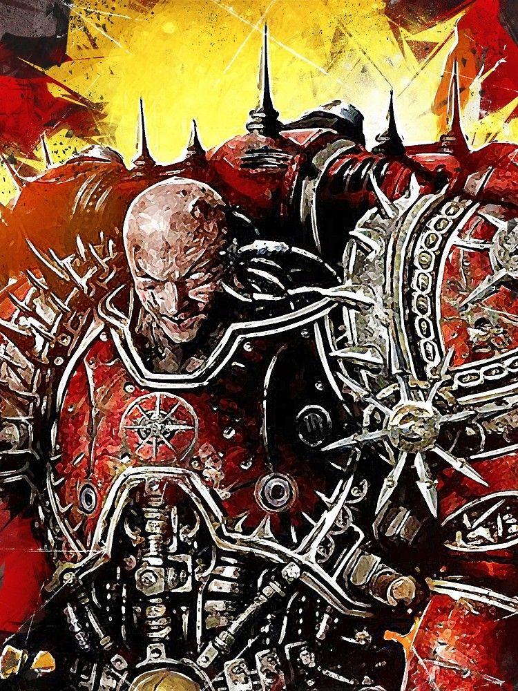 Word Bearers Favoured Of The Gods By Boostee Warhammer Fantasy Warhammer 40k Artwork Warhammer Art