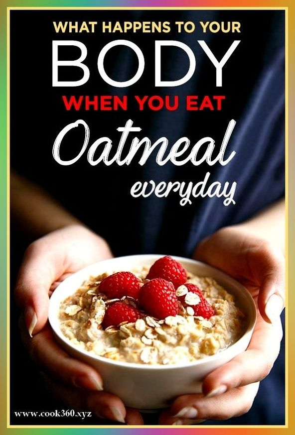 SCIENCE EXPLAINS WHAT HAPPENS TO YOUR BODY WHEN YOU EAT OATMEAL EVERY DAY  #naturalcures