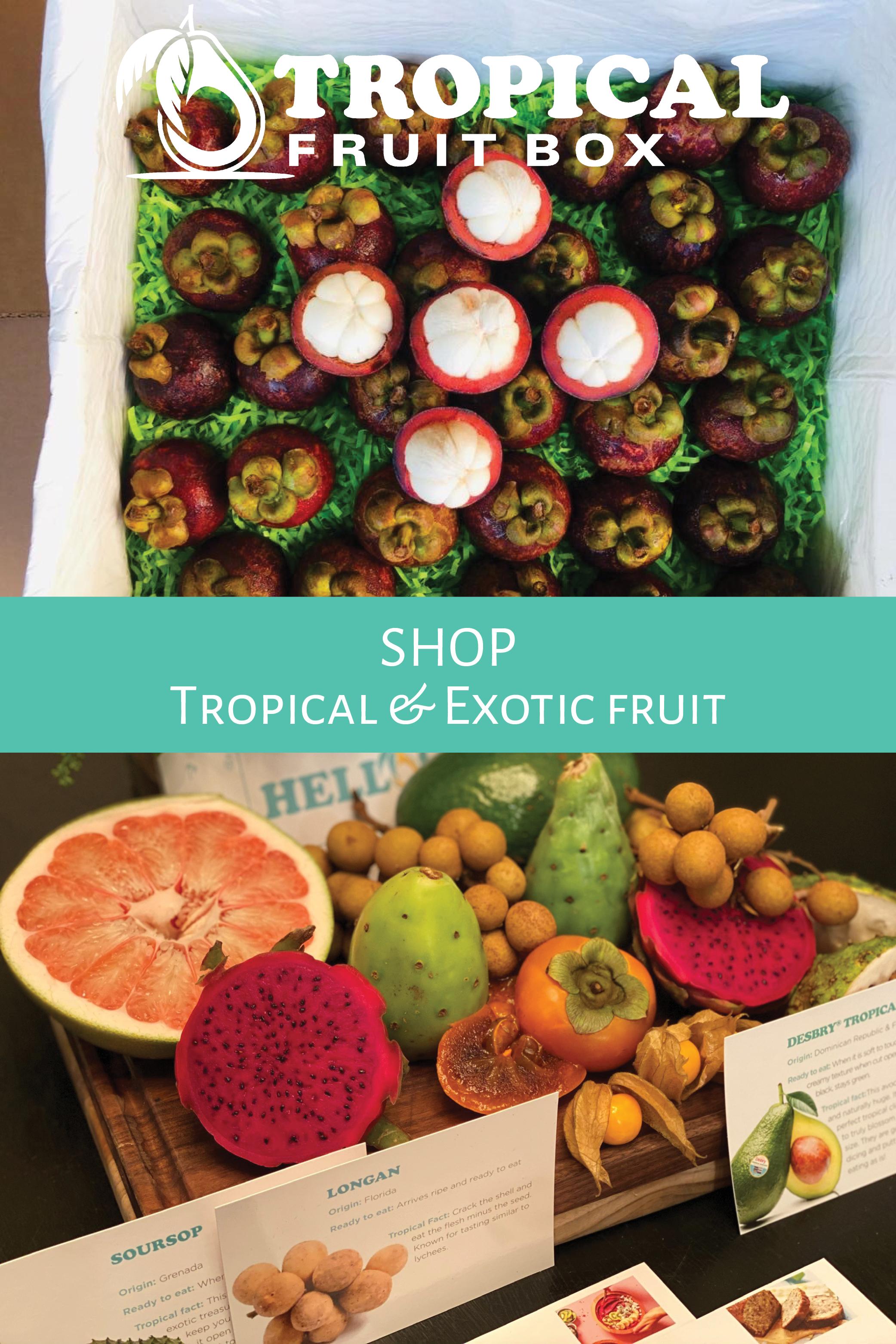Taste The Tropics Fruit Box In 2020 Fruit In Season Fruit Box Fruit