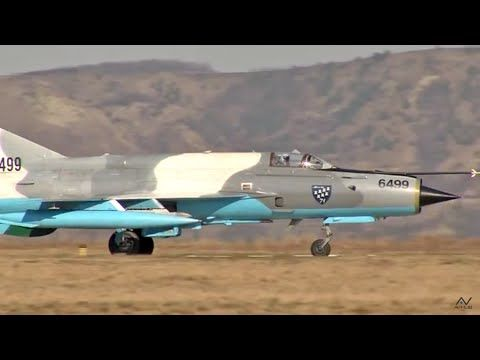 MiG-21 & F-16 Fighting Falcon Takeoff and Landing | Fighter Jets