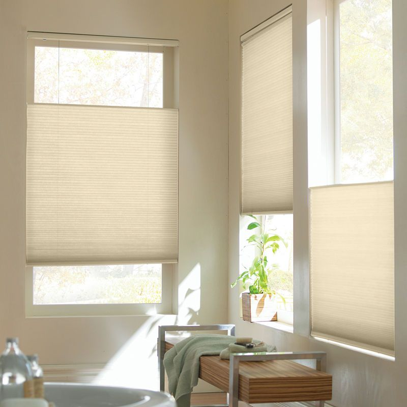 Top Down Bottom Up Blinds Bathroom