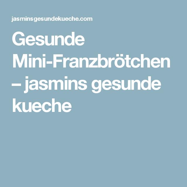 Gesunde Mini-Franzbrötchen – jasmins gesunde kueche